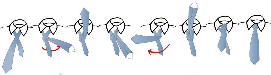Tie a tie how to tie a tie printable overview half windsor tie knot ccuart Gallery
