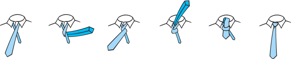 How to tie a Four in Hand tie knot